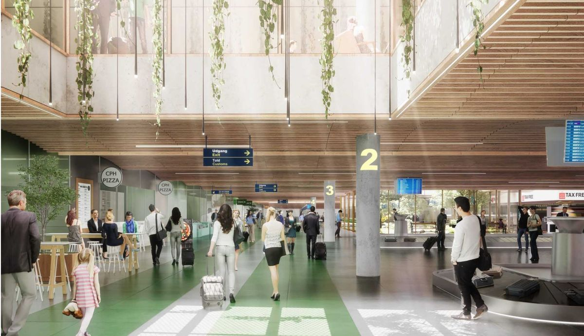 TERMINAL 3 EXPANSION, COPENHAGEN AIRPORT