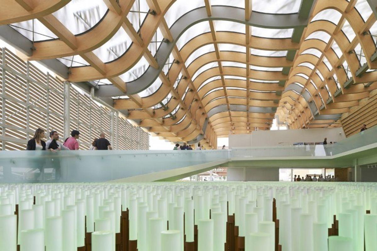 Milano Expo 2015 China Pavilion Roof Facade