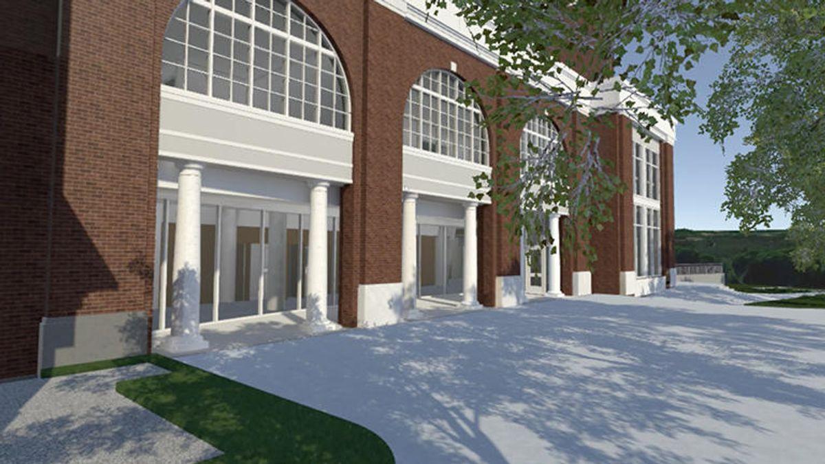 Bucknell University's new academic wing